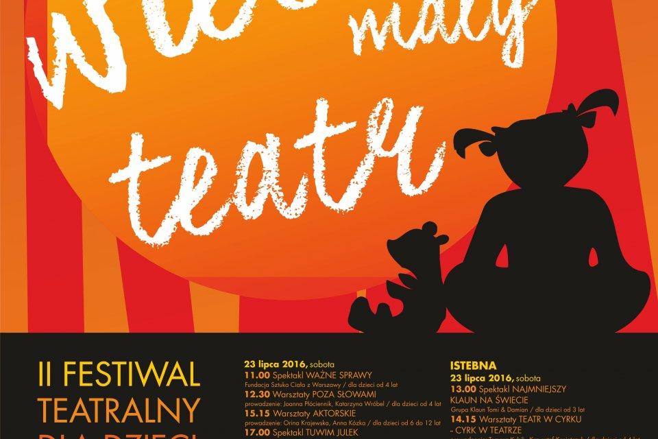 """""""Mały Wielki Teatr"""" - Festiwal Teatralny dla dzieci"""